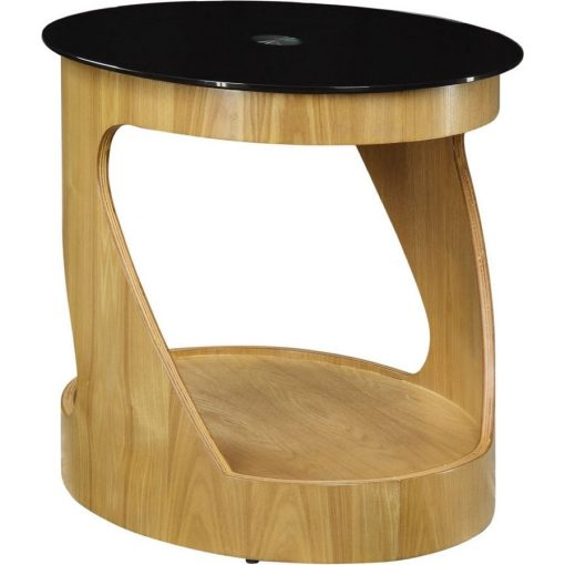 Jual JF304 Oval Lamp Table White