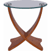 Main Image For Jual JF309 Siena Lamp Table Walnut