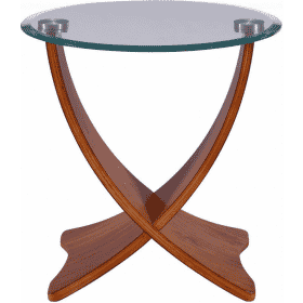 Jual JF309 Siena Lamp Table Walnut