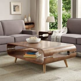 Lifestyle Home Setting Images For Jual JF703 TV Stand