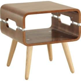 Jual Havana JF704 Walnut Retro Style Lamp Table