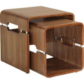 Jual Havana JF706 Walnut Retro Style Nest of Tables