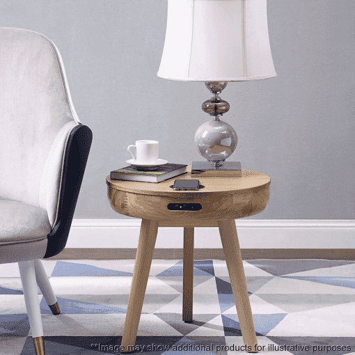 Lifestyle Home Setting Images For Jual JF710 San Francisco Smart Lamp Table Ash