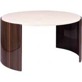 Jual JF902 Milan Coffee Table Walnut and Cream