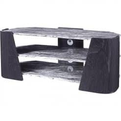 Jual JF906 Sorrento TV Stand 1200mm High Gloss Grey Slate & Marble Effect