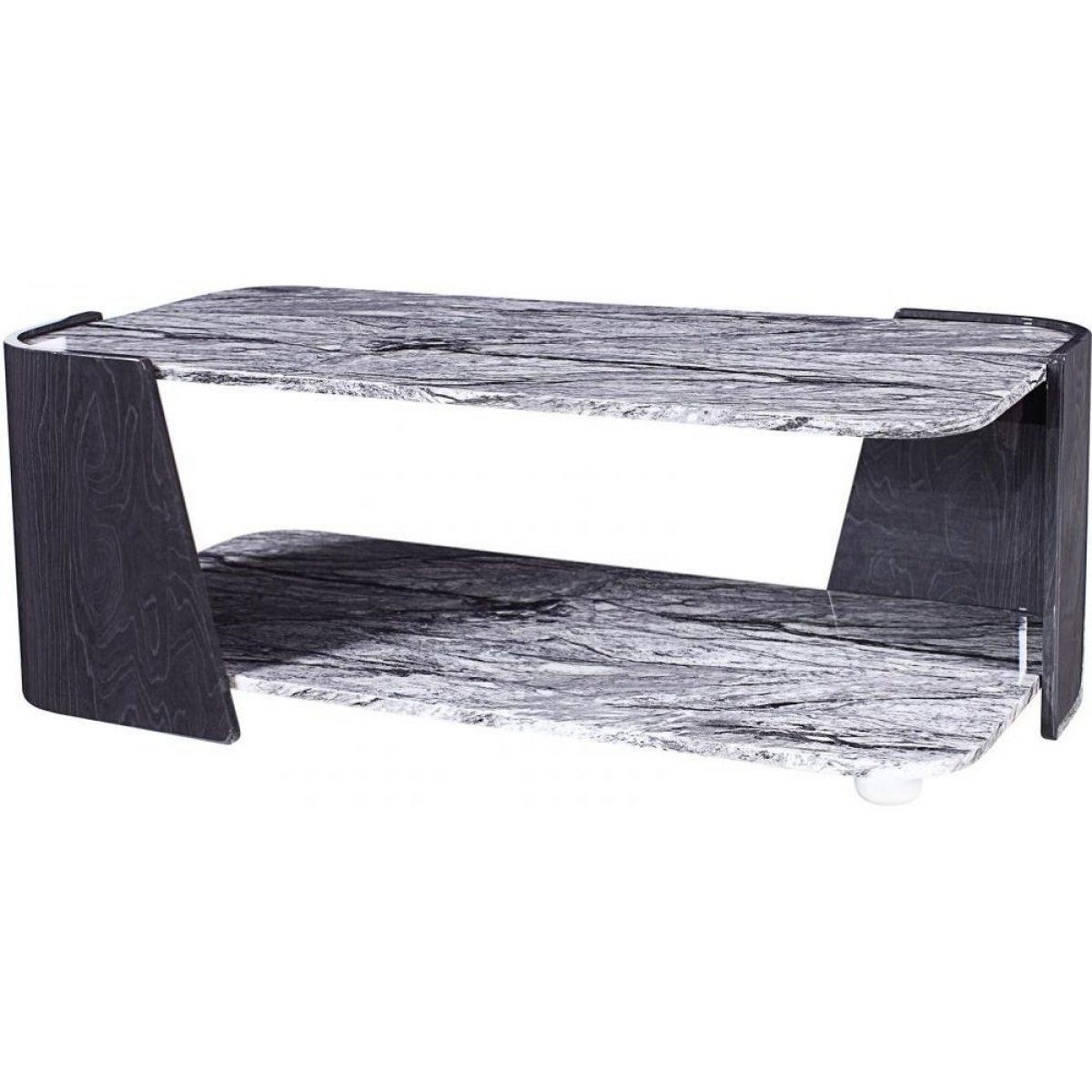 Jual Jf907 Sorrento Coffee Table High Gloss Grey Slate Marble Effect