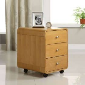Jual PC201 Dr Oak Curve 3 Drawer Unit Oak PC 201 Dr Oak PC 201 Dr Oak 1 1