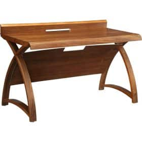Jual Santiago PC602 1300 Curve Office Walnut Table