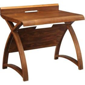 Jual Santiago PC603 900 Curve Office Walnut Table