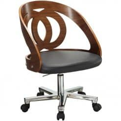 Jual Santiago  PC606 Curve Office Walnut Office Chair
