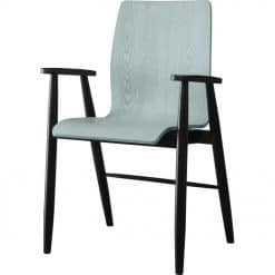 Jual Vienna PC612 Office Armchair Grey Ash Spindle Legs