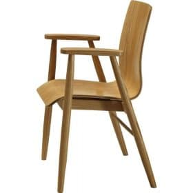 Jual PC707 Oak Retro Style Arm Chair