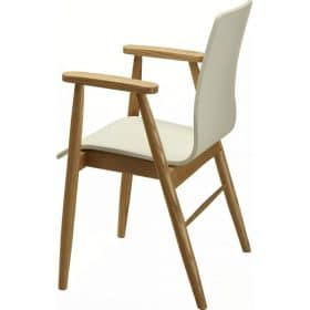 Jual PC707 White Ash Retro Style Arm Chair