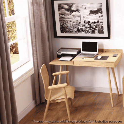 Lifestyle Home Setting Images For Jual PC710 San Francisco Storage Desk Ash