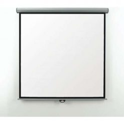 Metroplan EES16W Eyeline Electric Projector Screen 1:1 160cm