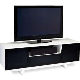 BDi Marina 8729-2 White Gloss TV Home Theatre Cabinet 8729-2/GW