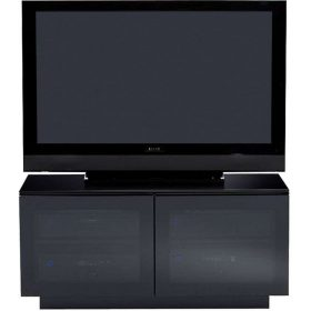 BDi Mirage 8224 Satin Black Home Theatre TV Cabinet Doors 8224/BL