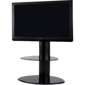 Off The Wall Motion Black TV Stand - MTN BLK