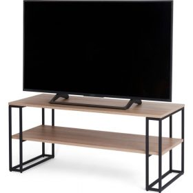 Off The Wall Cube 1100 Open TV Stand / Coffee Table Oak