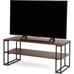 Off The Wall Cube 1100 Open TV Stand / Coffee Table Walnut