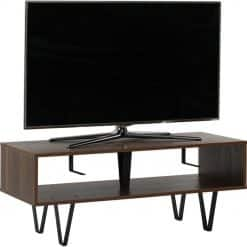 Off The Wall Chevron 1100 Open TV Stand / Coffee Table Walnut