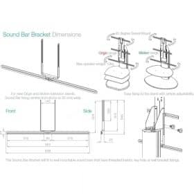 Off The Wall Soundbar Bracket - SB
