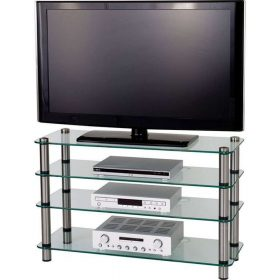 Optimum AV400SL Audio Visual Slimline TV AV Stand