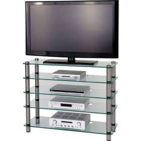 Optimum AV500SL Audio Visual Slimline Plasma LCD LED Stand