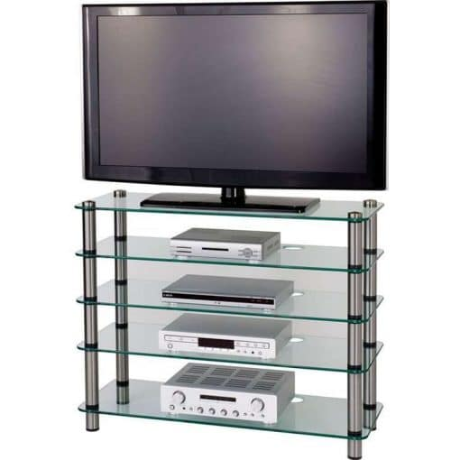 Optimum AV500sl Audio Visual Slimline Plasma Stand