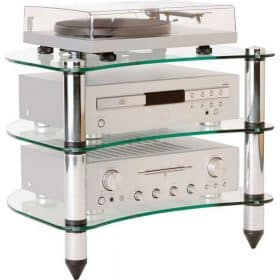 Optimum OPT340 Premier Curved Hi-Fi Stand