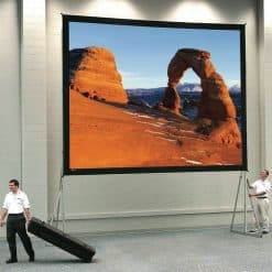 Metroplan 238304 Fastfold Large Front Projector Screen 62 x 96in