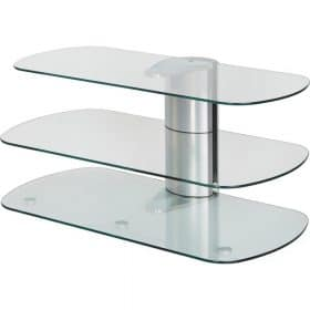 Off The Wall Skyline 1000 Silver TV Stand - SKY 1000 SIL