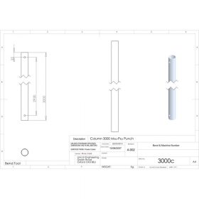 Additional Images For Unicol 3000c 300cm Column For Ceiling Installation