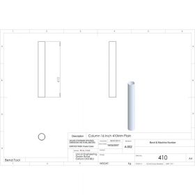 Additional Images For Unicol 410 16 Inch 41cm Standard Column