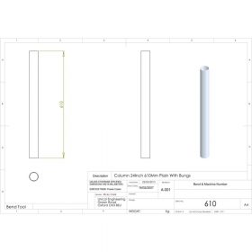 Additional Images For Unicol 610 24 Inch 61cm Standard Column