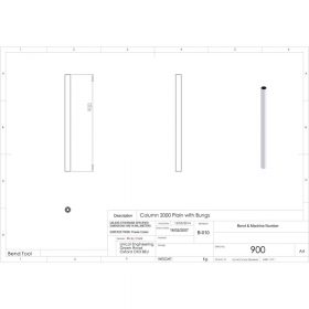 Additional Images For Unicol 900 36 Inch 90cm Standard Column