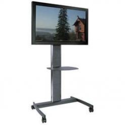 "Unicol AVHT Avecta Tall Commercial TV Trolley Fits 57"" Plus"