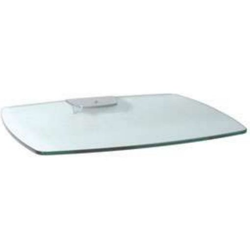 Unicol Axia Optional Glass Shelf 40cm X 50cm