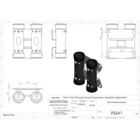 Additional Images For Unicol Ps6v1 VS Floor To Ceiling Mount Converter