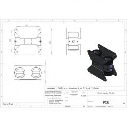 Unicol PS8 Back To Back Adapter Unit