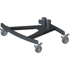 Unicol VSR Scimitar VS1000 Braked Trolley Base 60 X 87cm