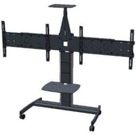 Unicol ACLT Avecta Twin TV Low Trolley Video Conferencing Mount