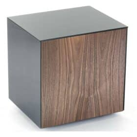 Frank Olsen INTELLAMPGRY-WAL Grey Lamp Table Walnut Door