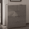 Main Image For Frank Olsen Intel Large Chest Gry Gloss Grey Large 32 Drawer Chest Wireless Charging