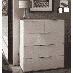 Additional Images For Frank Olsen Intel Large Chest Wht Gloss White Large 32 Drawer Chest Wireless Charging