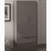 Main Image For Frank Olsen Intel Ward Gry Grey Gloss Wardrobe