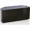 Main Image For Frank Olsen Intel1100 Corner Blk 1100 Corner TV Cabinet Black
