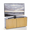 Additional Images For Frank Olsen Intel1100corner Blk Oak 1100 Corner TV Cabinet Black Oak Veneer Doors