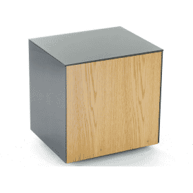 Frank Olsen INTELLAMPGRY-OAKV Lamp Table Grey With Oak Veneer Door
