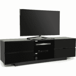 MDA Designs AVITUS 1580 Black Gloss TV Stand
